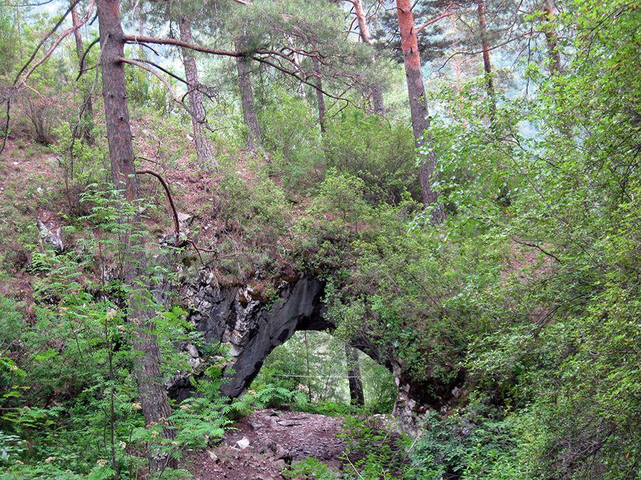 Фотография Тавдинской карстовой арки