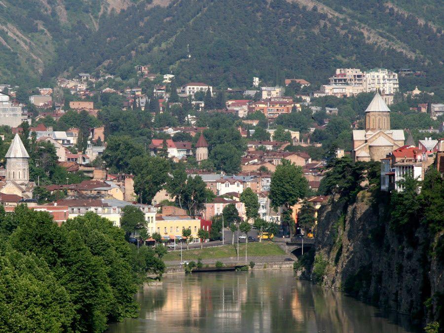 Фото Тбилиси, столицы Грузии