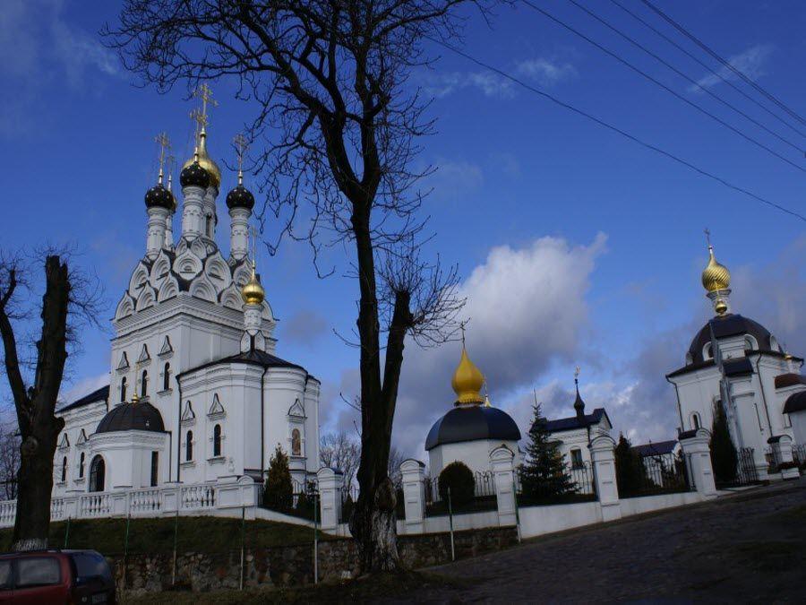Панорама храма Веры, Надежды, Любови и матери их Софии фото