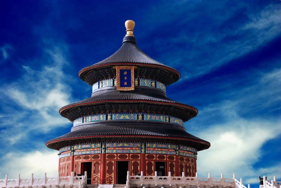Великолепный Храм Неба в Пекине фото