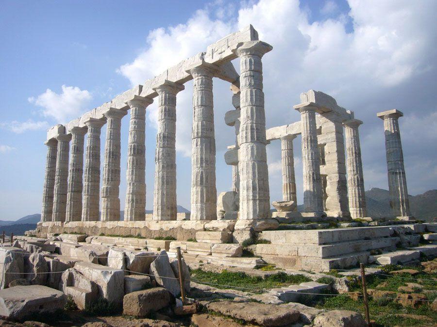 Храм Посейдона фотография