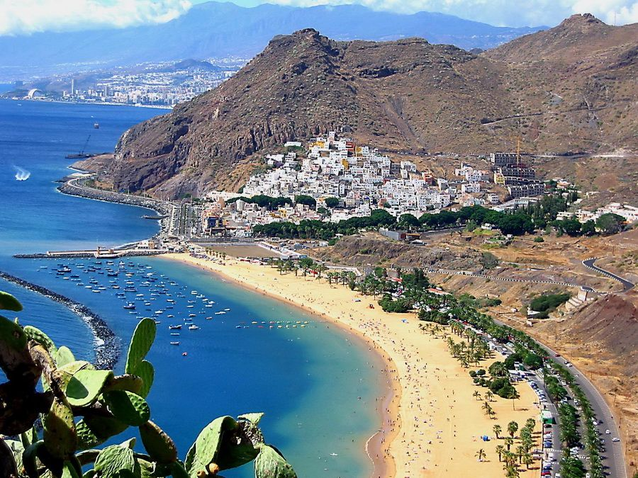 Курортный центр в Тенерифе Испания фото