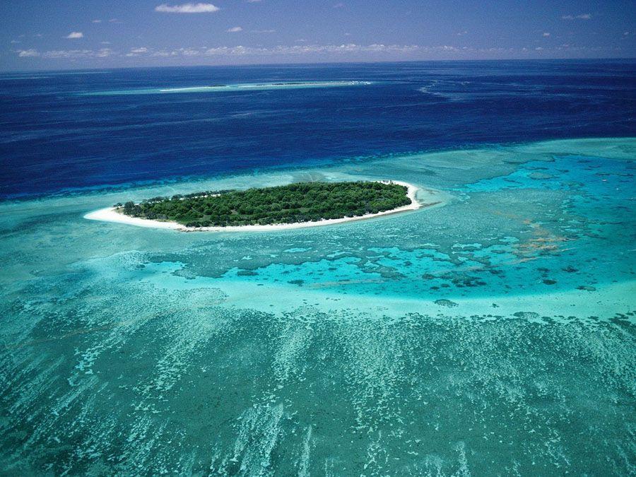 Фотография Большого Барьерного рифа в Австралии