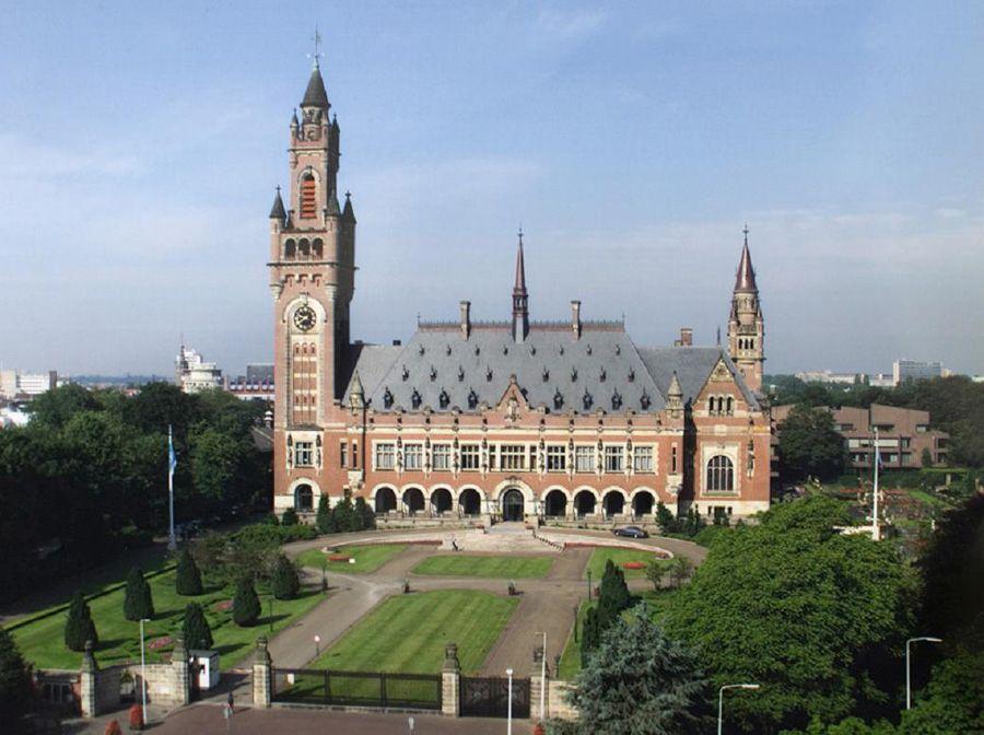Дворец в Гааге в Нидерландах фотография