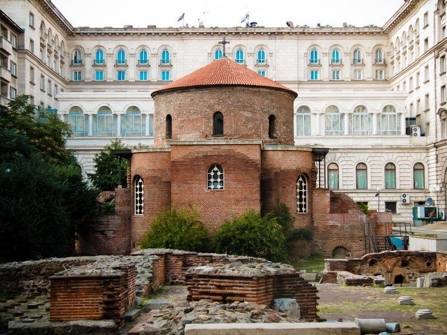 Фото Ротонды св. Георгия в Болгарии