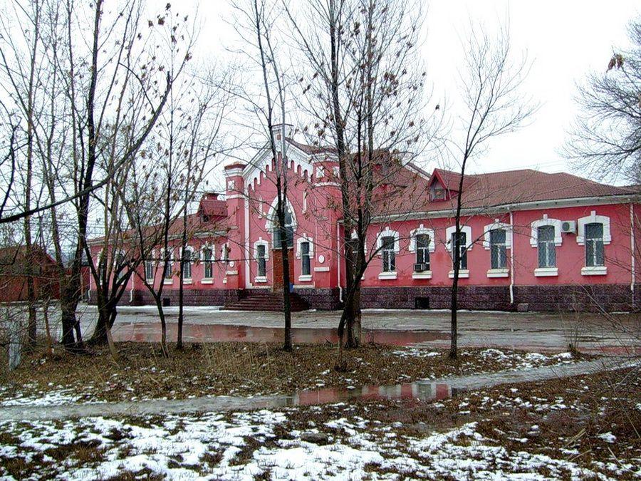 Фото железнодорожной станции в Сарепте
