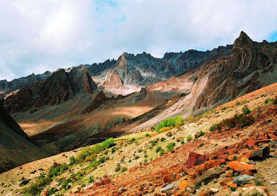Неземная красота Тибета на фото