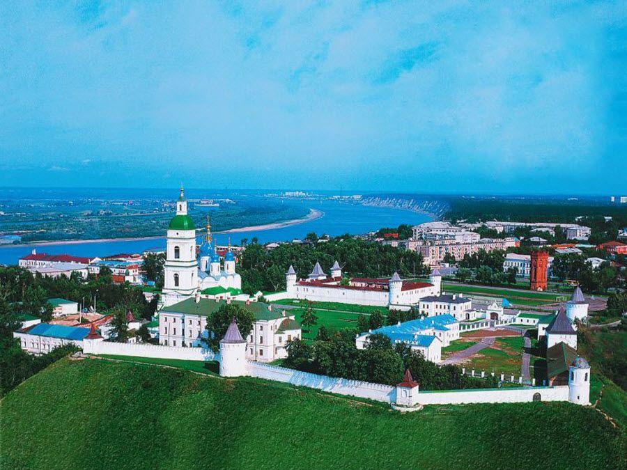 Панорама Кремля в Тобльске фото