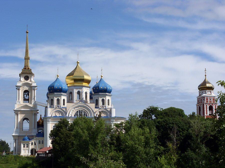 Панорама Спасо-Преображенского собора фото