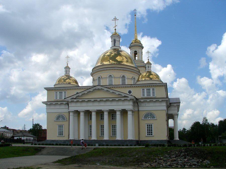 Фото Спасо-Преображенский собор в Невьянске Свердловской области