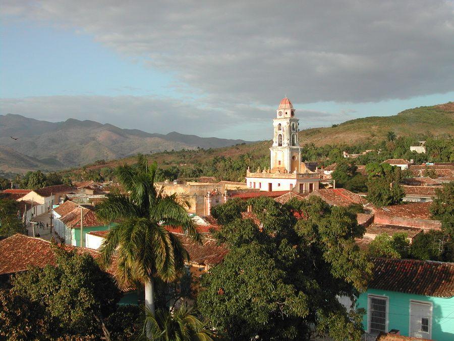 Фото панорамы Тринидада на Кубе