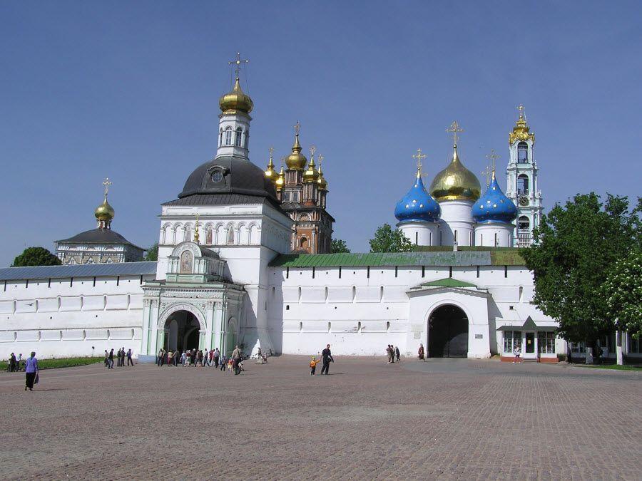 Троице-Сергиевская Лавра фото