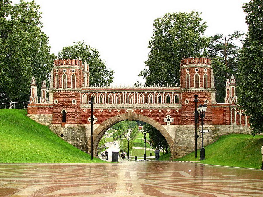 Парк Царицыно фото моста