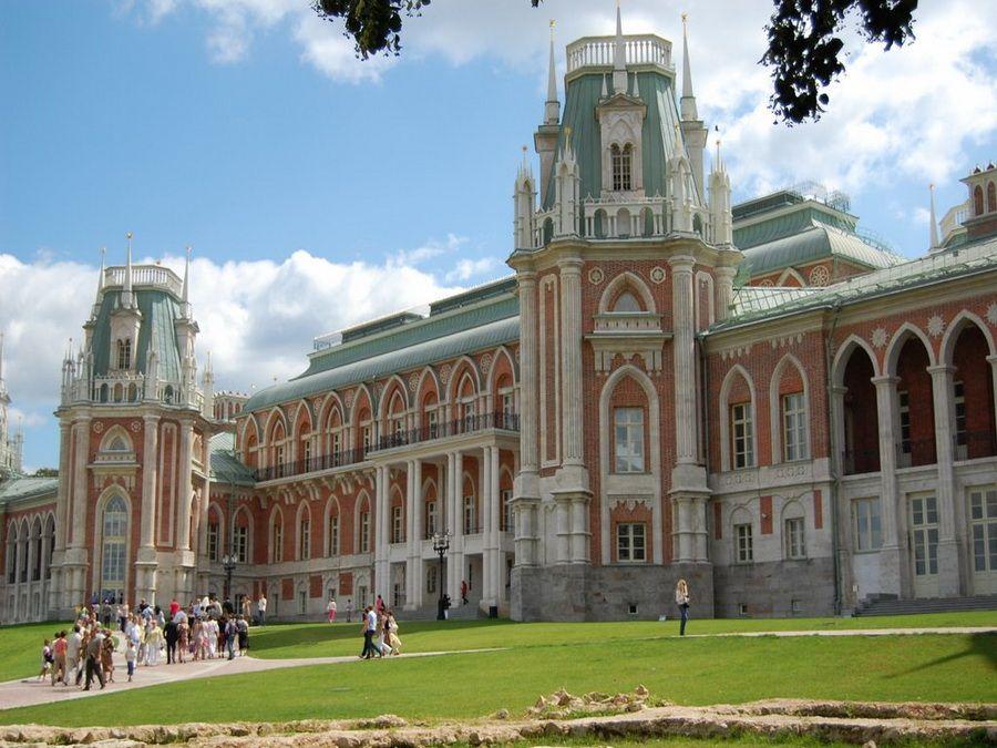 Фотография Большого дворца в усадьбе Царицыно