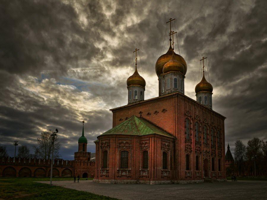 Тульский Спасо-Преображенский собор фото