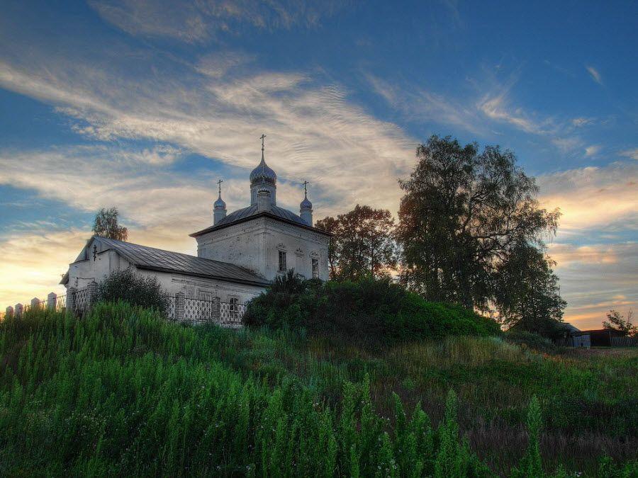 Фото старинного храма Тульской области