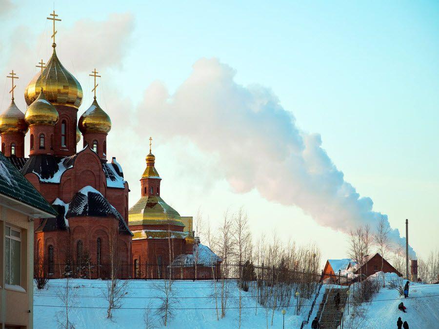 Фото церковь в Нефтеюганске Тюменской области