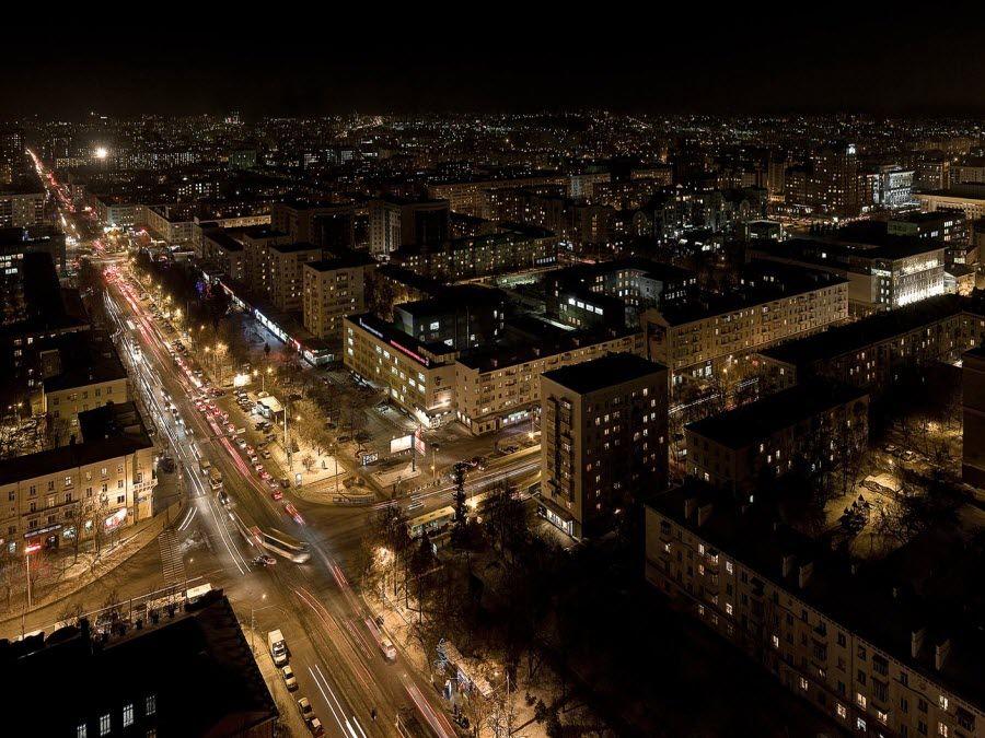 Фото Уфа – вид ночью