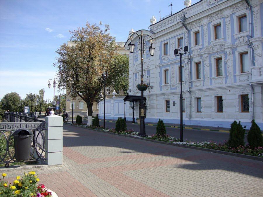 Верхне-Волжская набережная в Нижнем Новгороде фото