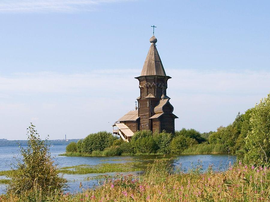 Успенская церковь фото Карелии