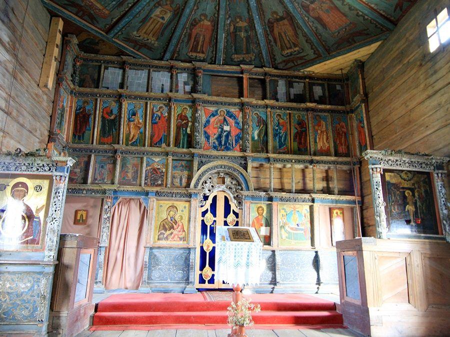 Фотография интерьера Успенской церкви