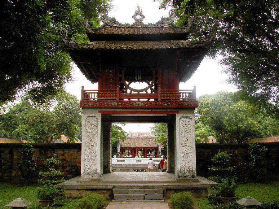 Фотография Храма литературы – пагоды Ван-Миеу в Ханое