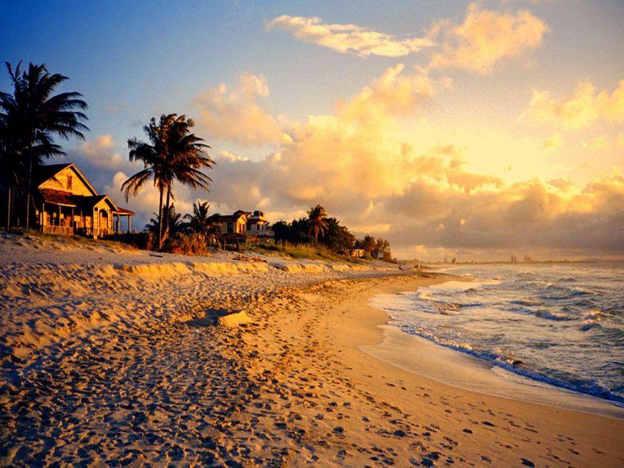Фото Варадеро на закате, Куба