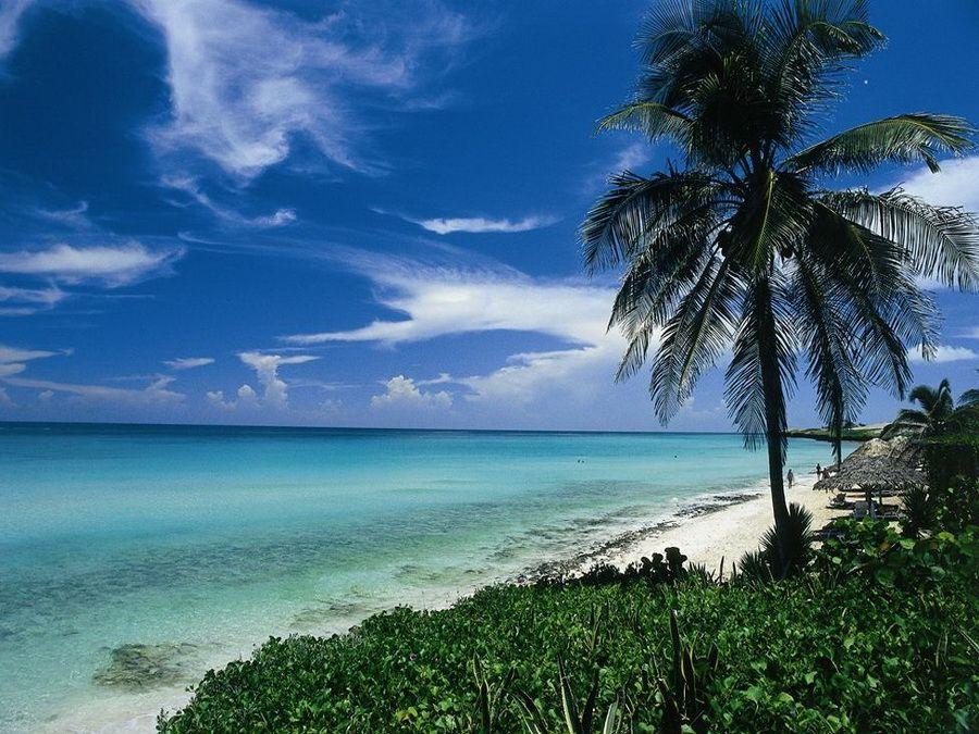 Фото пляжа в Варадеро на Кубе