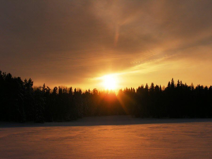 Фото природы Великорецкого на закате