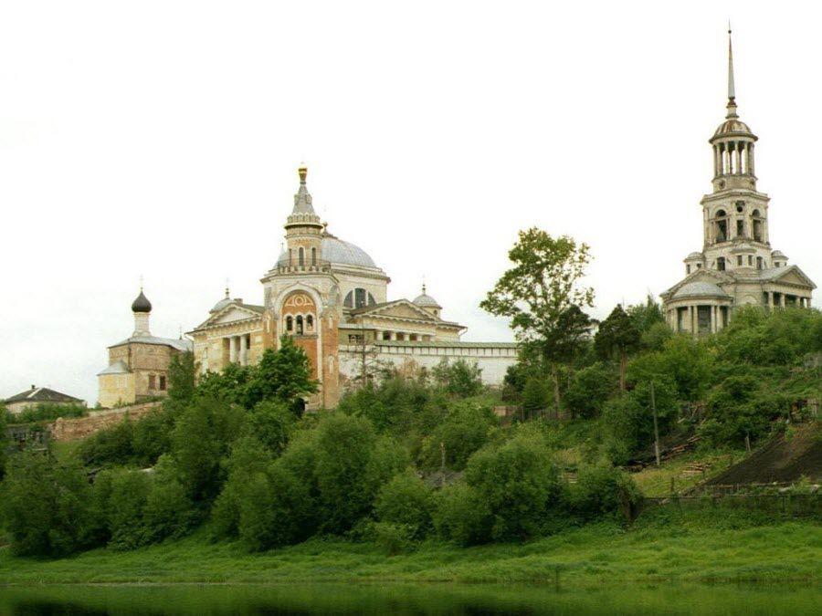 Панорама Великорецкого архитектурного ансамбля фото