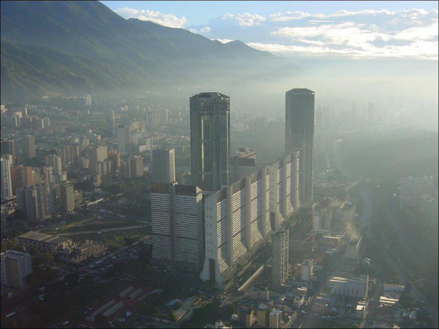 Фото Каракас вид сверху