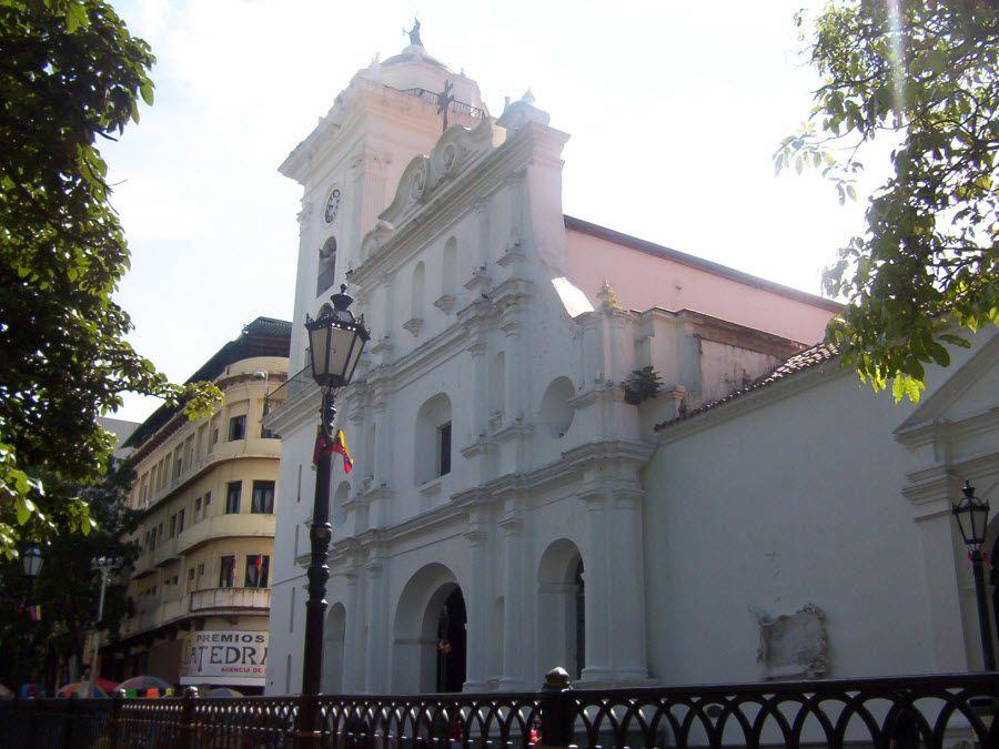 Фото старинного Кафедрального собора в Каракасе