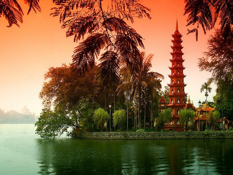 Фото достопримечательностей Вьетнама