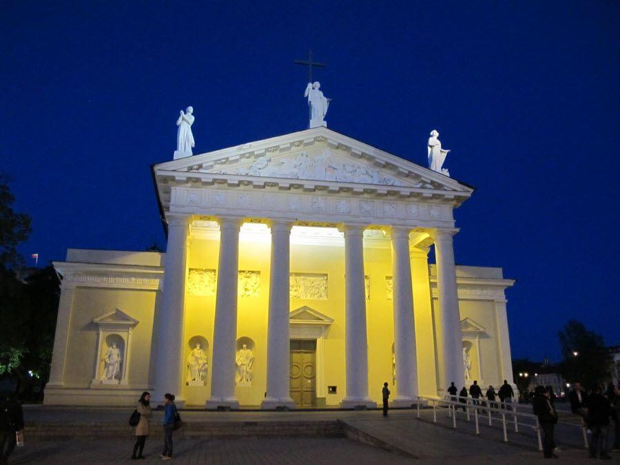 Фото Кафедральный собор Святого Станислава в Вильнюсе