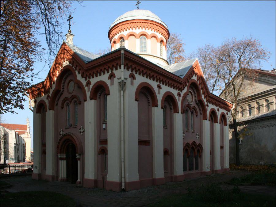 Церковь Святого Николая в Вильнюсе фото