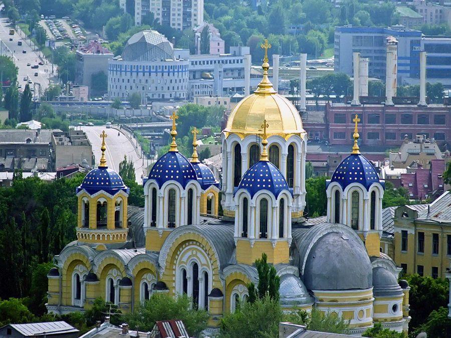 Фото Владимирского собора в Киеве