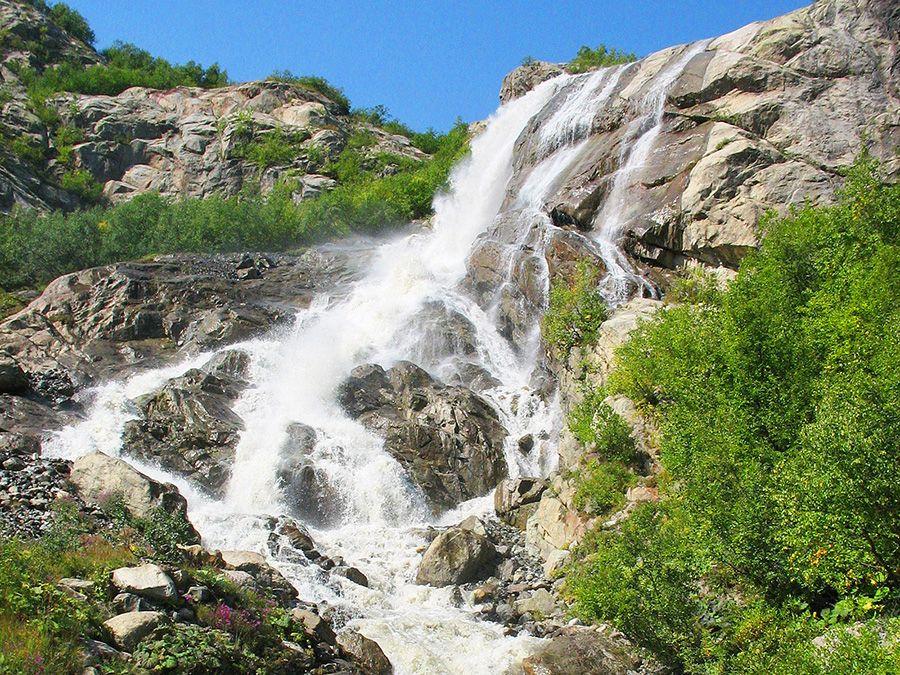 Фотография Алибекского водопада
