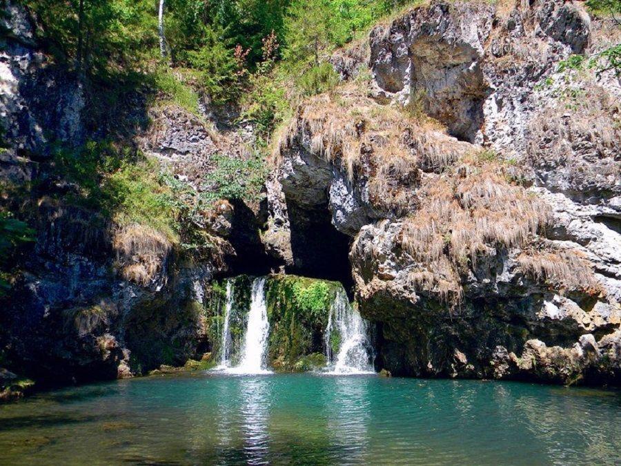 Фотография водопада Атыш