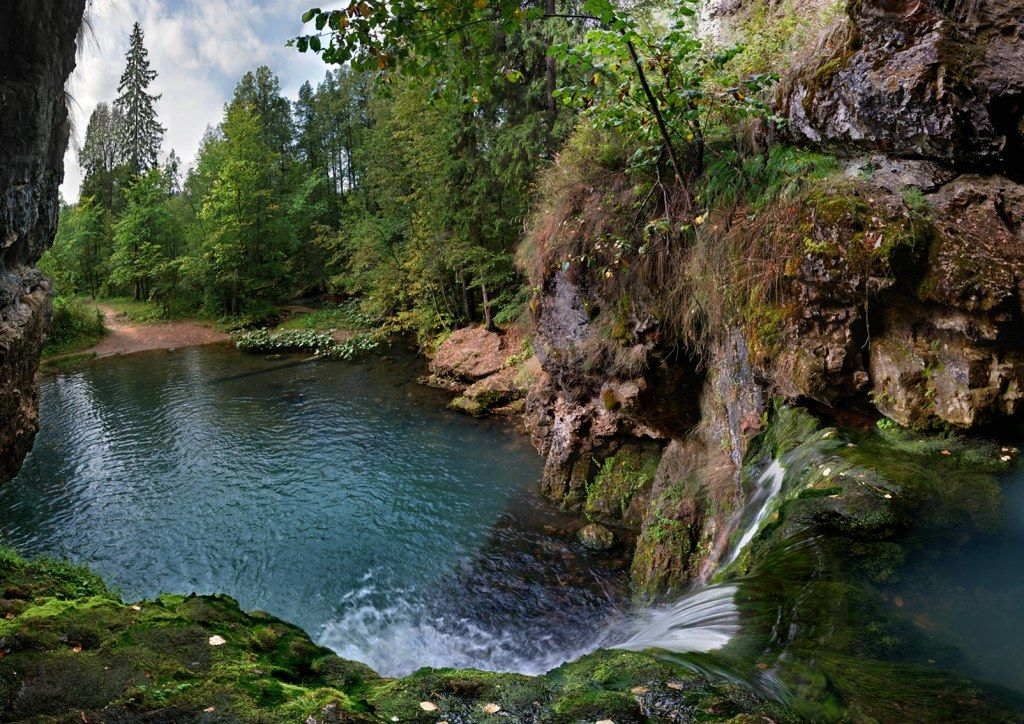 Водопад Атыш фото Башкирии