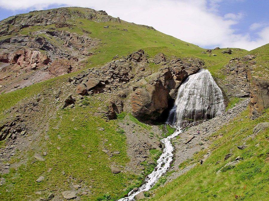 Фотография водопада Девичьи косы