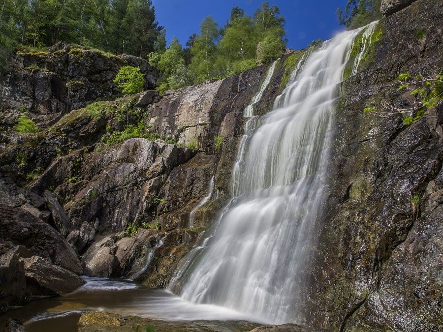 Водопад Гадельша фотография