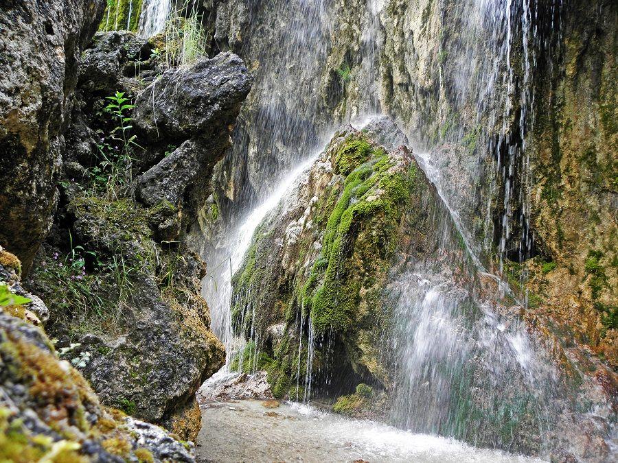 Фотография подножия водопадов Гедмишх