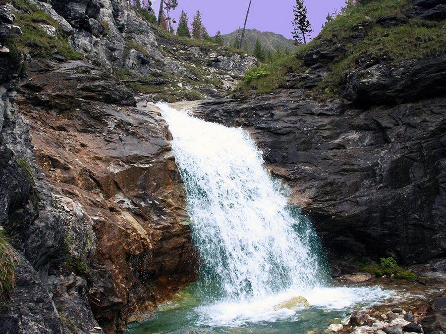 Фотография водопадов Кынгарга