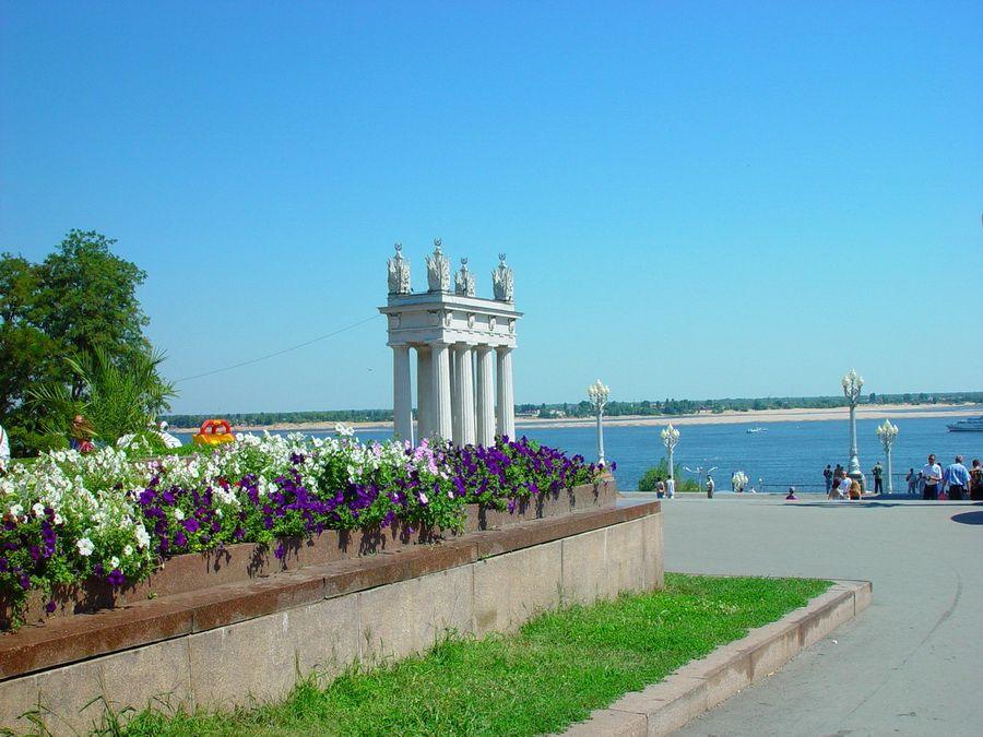 Фотография Центральной набережной Волгограда