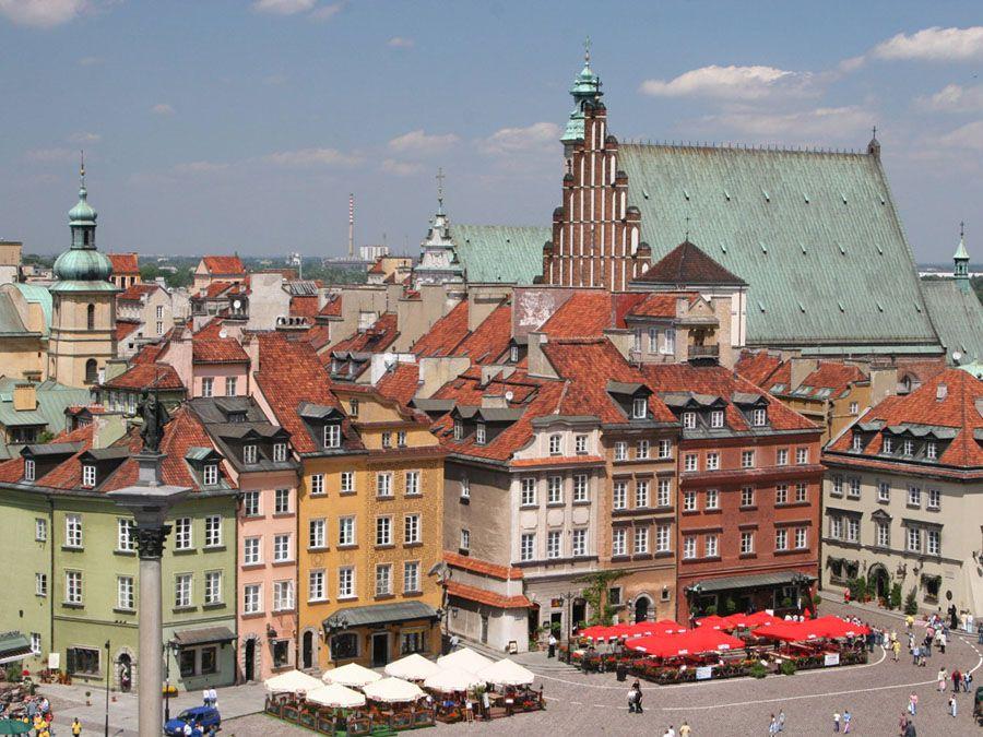 Исторические здания Варшавы