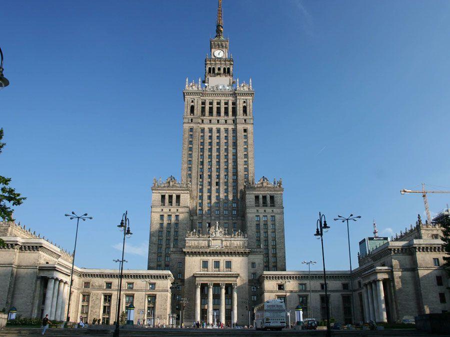 Красивый город Варшава фото