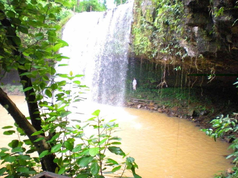 Ратанакири – малый водопад фотография