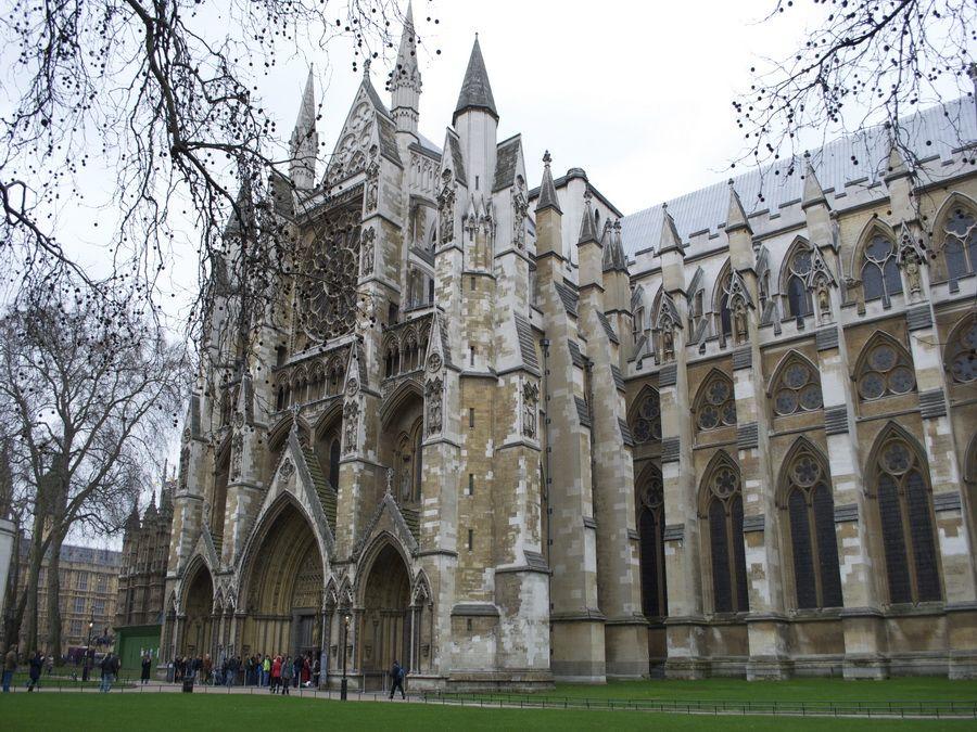 Фотография Вестминстерского аббатства в Лондоне