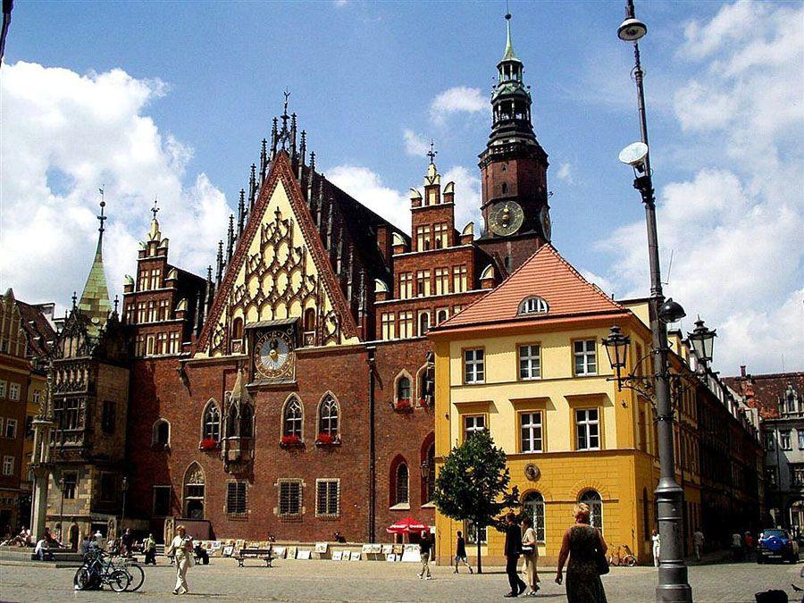 Фотография город Вроцлав