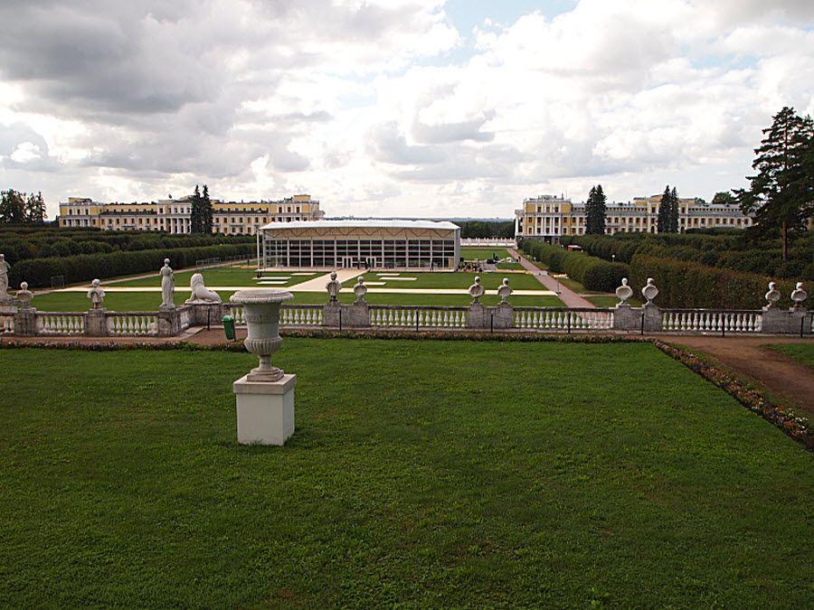 Панорама дворцового комплекса Юсуповых фото